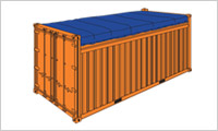 open top container 20 sm