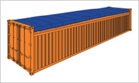 open top container 40 sm